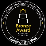 Bronze Award at the Cake Professionals Awards 2020