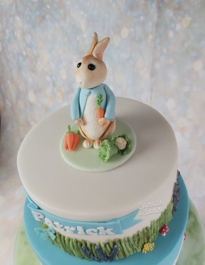 Rabbit model topper
