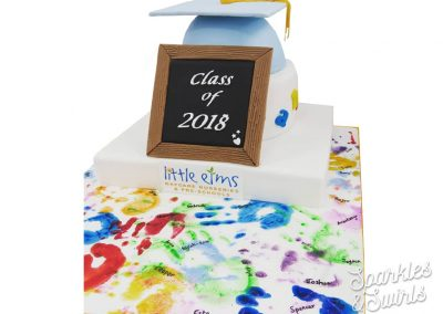 Nursery Graduation Ceremony Cake