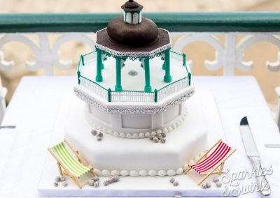 Brighton Bandstand Wedding Cake