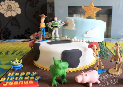 Children's Toys Birthday Cake