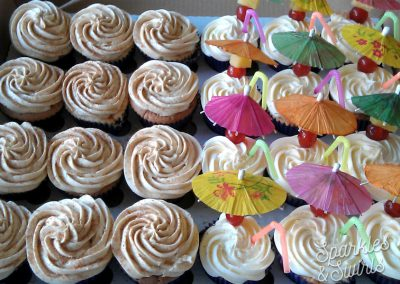 Tropical Cocktail Cupcakes